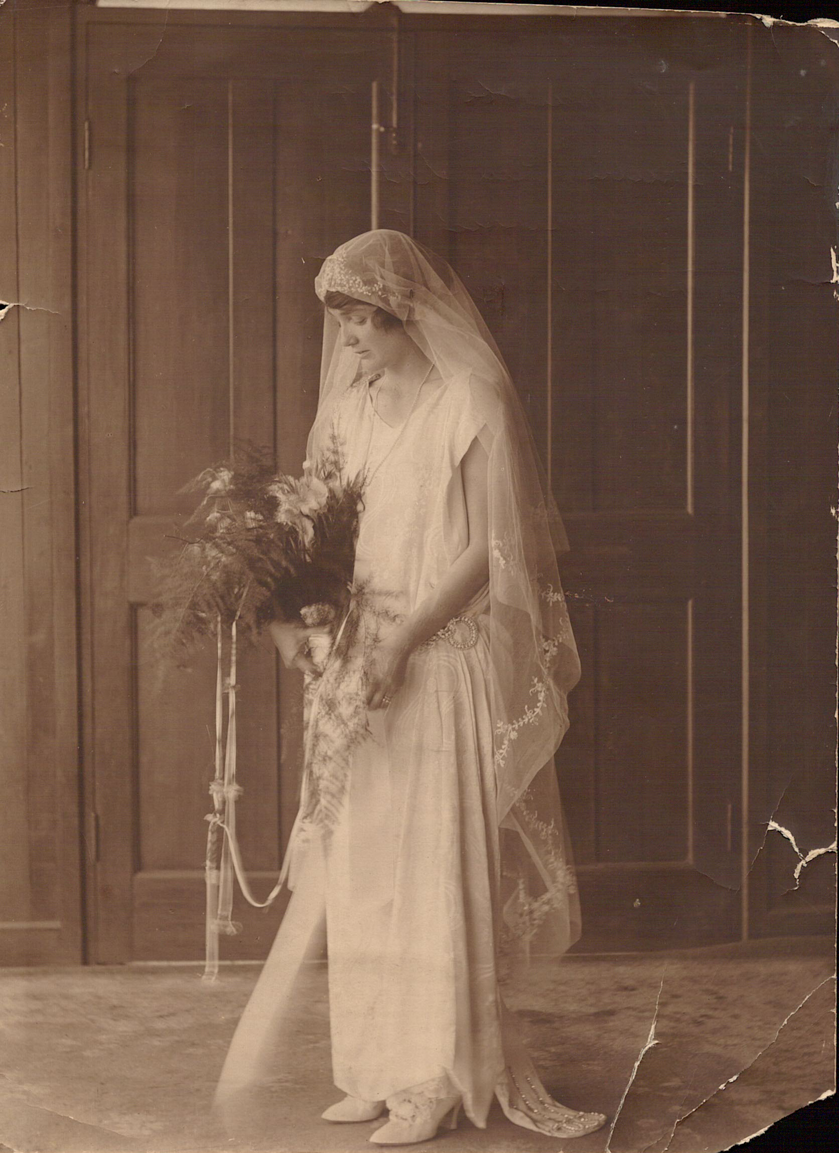 01-03-1924 EM wedding day-1